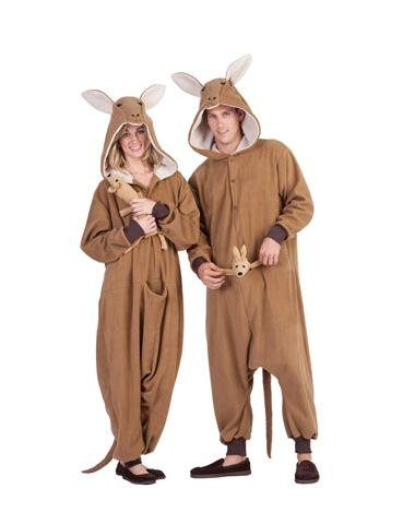 Kangaroo Costume, Brown, One Size
