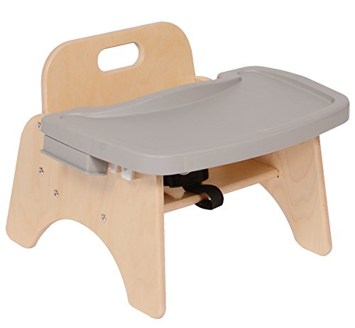 Steffy wood Products SWP1688 Toddler Feeding Chair with Rubbermaid Tray - 1