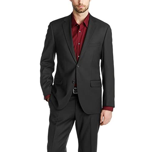 Esprit Men's 993EO2G902 COMF Wool Plain Suit Jacket