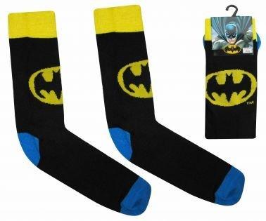 Calzini per adulti con logo Batman ufficiale