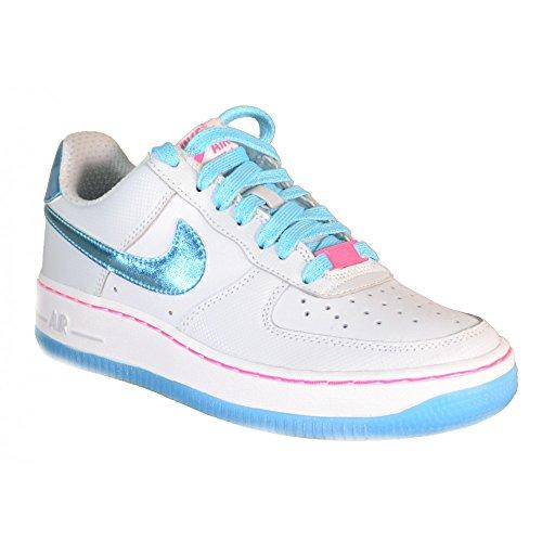 Nike-Nike-Air-Force-1-GS-Zapatos-Deportivos-Gris-Cuero-314219