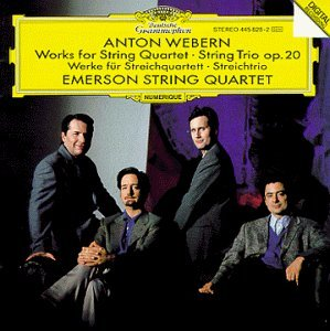 Webern - String Quartets and Trios by Emerson Qt (1995-04-03) (Emerson Webern compare prices)