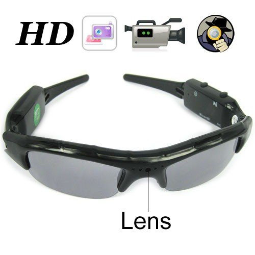 LGI Spy Gunglasses 2GB Memory with Extra Micro SD Card Slot - Spy Camera - Men's best Gadget