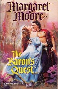 Baron'S Quest (Harlequin Historical, No 328), MARGARET MOORE