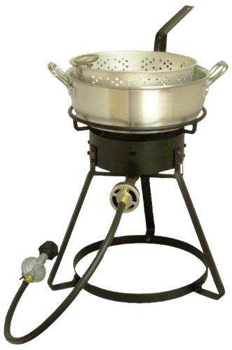 King Kooker 1642 16 Inch Bolt Together Outdoor Propane