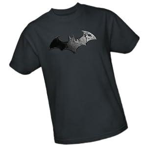 Bat Logo -- Batman Arkham City Adult T-Shirt