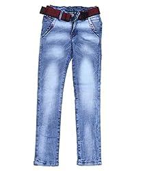 DUC Boy's Denim Light Blue Jeans (kd03-lb-36)
