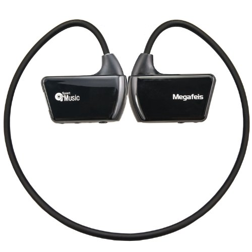 Megafeis E30 8Gb Sports Wireless Earphones Headphones Protable Mp3 Music Player(Black)
