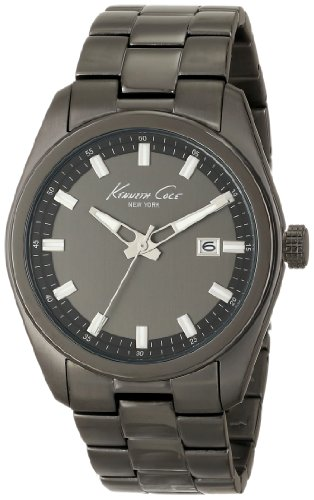 Kenneth Cole New York Round with Black Link Strap Men's watch #KC9333
