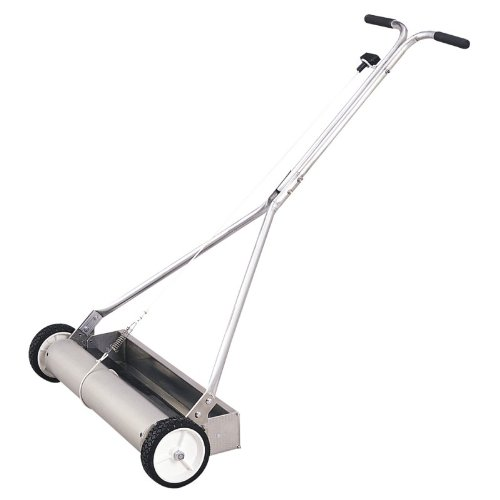 Malco Ms34Wh 34-Inch Wheeled Magnetic Sweep With Hopper