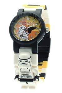 Lego 9004339 - Reloj para niño de plástico Resistente al agua marcar