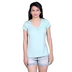 Tantra Margaret Women's Top, Aqua Green, X-Small