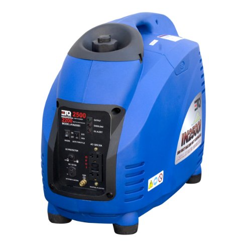 ETQ IN2500I 2,500 Watt 125cc 4-Stoke Gas Powered Portable Inverter Generator