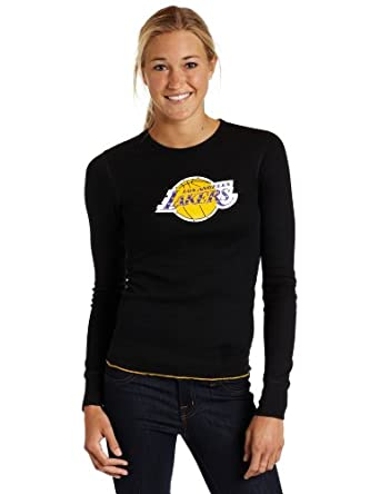 Majestic Threads Los Angeles Lakers Baby Thermal, Black by Majestic Threads