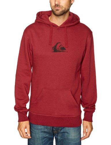 Quiksilver Hood Rib Logo-KPMSW96211 Men's Sweatshirt Sangria XX-Large