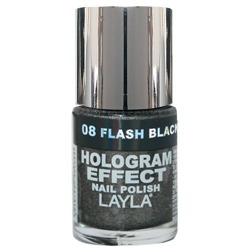 layla-cosmetics-hologram-effect-nail-polish-flash-black-10ml