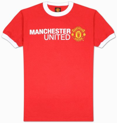 Soccer: Manchester United - Basic Logo Specialty Products T-Shirt, L - Red
