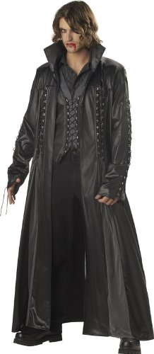 California Costumes Men's Baron Von Bloodshed Costume,Black/Grey,X-Large