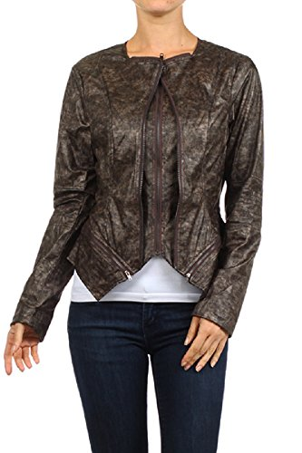 Mystree Faux Leather Jacket
