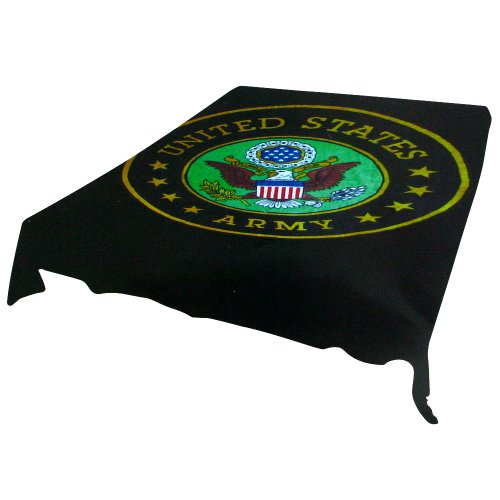 Trademark Home Acrylic Mink 94 By 78-Inch Army Blanket
