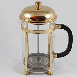 la cafetiere classic coffee press 12 cup gold french presses. Black Bedroom Furniture Sets. Home Design Ideas