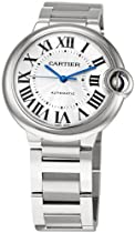 "Cartier Unisex W6920046 ""Ballon Bleu"" Stainless Steel Automatic Watch"