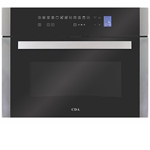 CDA VK901SS Compact Combination Microwave, Grill and Fan Oven With Touch Control