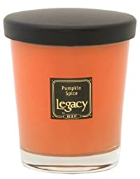 Legacy by Root Scented Veriglass Candle, Pumpkin Spice