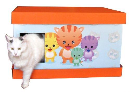Vanity Litter Box Bo4 Customizable For Single Or Multiple