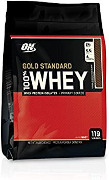 Optimum Nutrition 8 Lbs Chocolate 100% Whey Protein