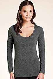 Supima® Cotton Long Sleeve Top