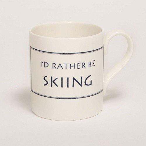Stubbs Mugs I'D Rather Be Skiing Mug Bone China