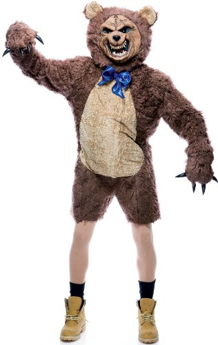 Paper Magic Cuddles The Bear Costume, Brown, One Size
