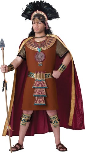 InCharacter Costumes, LLC Mayan King, Tan, Large