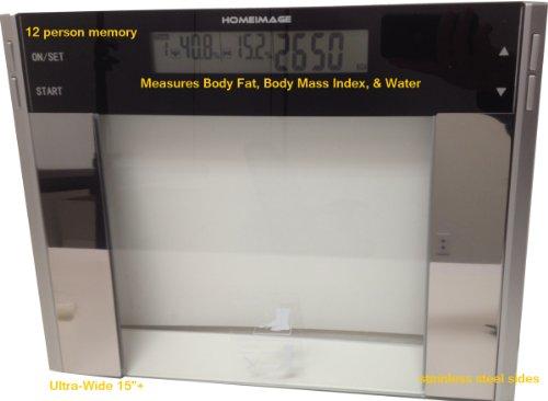 super slim body fat hydration monitor scale manual