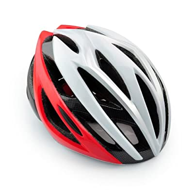 Skyrocket Girls Helmets for Bikes Universal Helmet 53-58cm Red/Silver