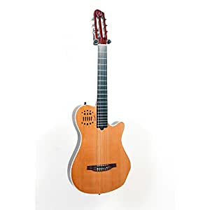 godin multiac grand concert sa nylon string electric guitar natural high gloss w. Black Bedroom Furniture Sets. Home Design Ideas