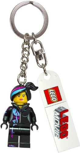 Lego The Movie Wyldstyle Key Chain - 1