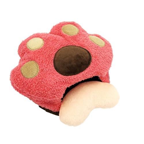 USB接続でホッコリ温っか ハンド ウォーマー 猫 にゃんこ デザイン (ピンク)