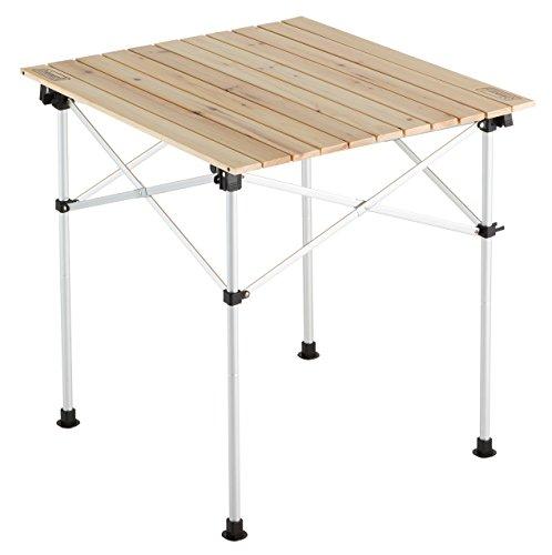 Coleman(コールマン) テーブル ナチュラルウッドロールテーブル65 2000023502