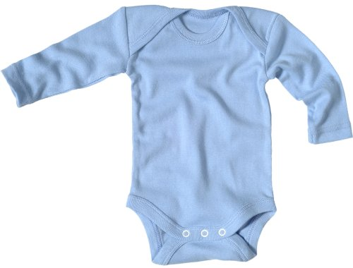 Living Crafts Baby Langarm Body (62/68, Türkis)