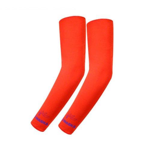 Buy Low Price Nask Hunting UV Protective Arm Sleeves Arm Cooler, Orange, 1 Pair, N3-R (B0057LYK7Q)
