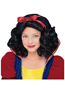 Child Snow White Wig from Rubies Costume Co. Inc