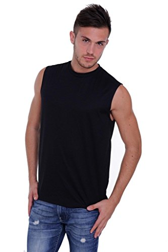 Mens-Mesh-Dri-Fit-Light-Weight-Sleeveless-Shirt-Workout-Gym-Made-in-the-USA