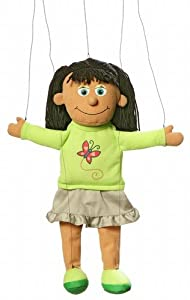 Marionette Jasmine from Silly Puppets