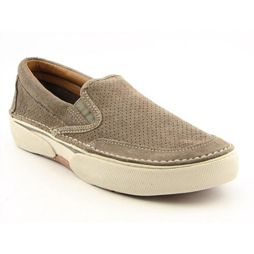 Sperry Top-Sider Mens Largo Slip-On Casual Shoes (8, Taupe Suede)