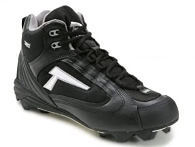 Tanel 360- RPM Lite Mid Cut Molded Cleat. Black Black by Tanel 360