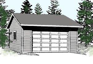 Garage Plans 2 Car Garage Plan 624 5 24 39 X