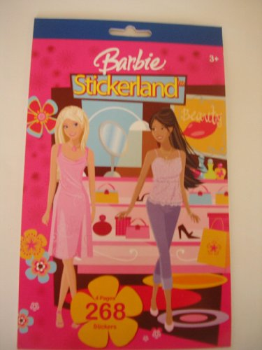 Barbie Sticker Book ~ 268 Stickers - 1