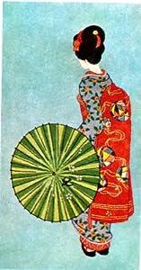 Traditional Tokyo Bunka Japanese Geisha Embroidery Punch Needle Kit
